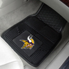 Heavy Duty Vinyl Car Mats - 2 Front - Minnesota Vikings