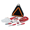 Roadside Emergency Kit w/Reflective Hazard Warning Tote