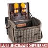 Kabrio Picnic Basket for Two - Variety of Styles