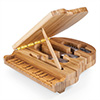 Grand Piano Shaped Cheese Board w/ Tools
