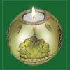 Sage Tea Light Candle Holder